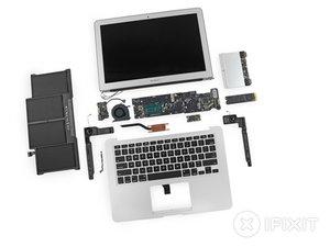 "MacBook Air 13"" Mid 2013 Teardown"