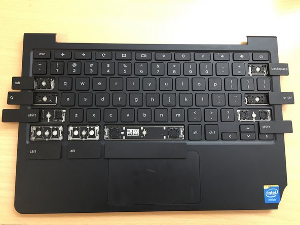 Dell Chromebook 11 CB1C13 Special Key Replacement