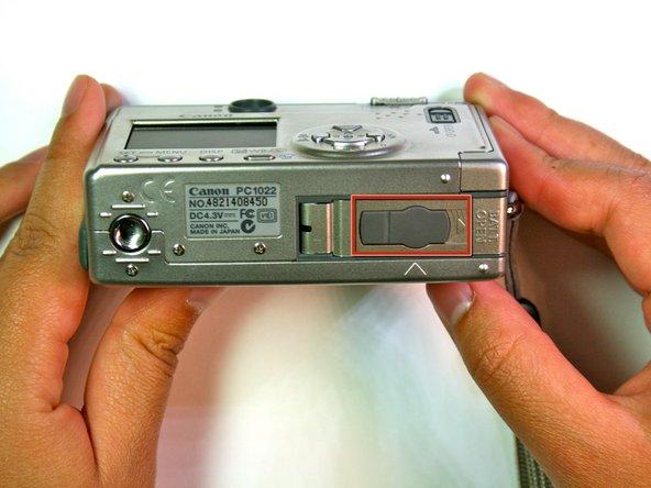 Canon Powershot S200 Flash Unit Replacement