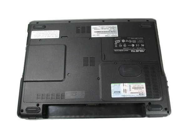 Asus F6A-X2 Battery Replacement