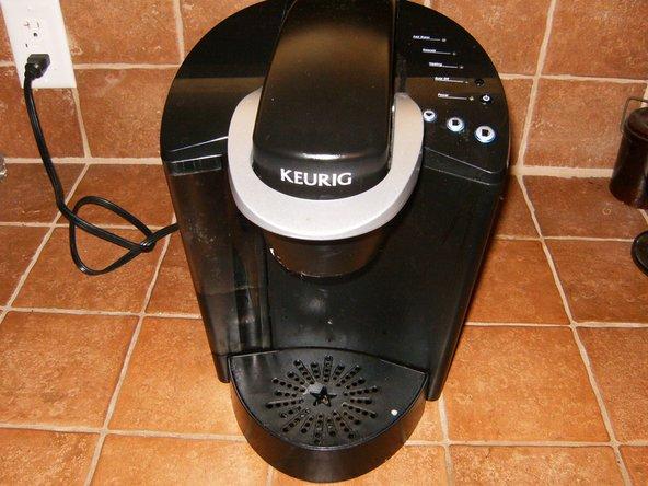 Keurig K40 not brewing/dispensing 12oz