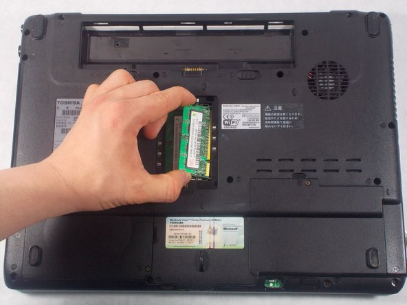 Toshiba Dynabook AX 53D Memory Replacement