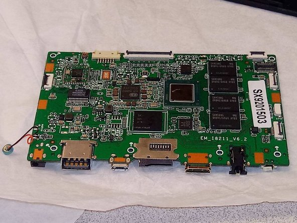 Quantum View 10.1 Motherboard Replacement
