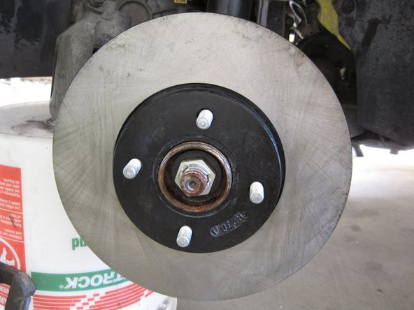 2005-2007 Ford Focus Front Brake Rotors Replacement