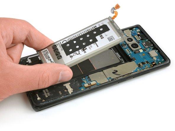 Remplacement de la batterie du Samsung Galaxy Note8