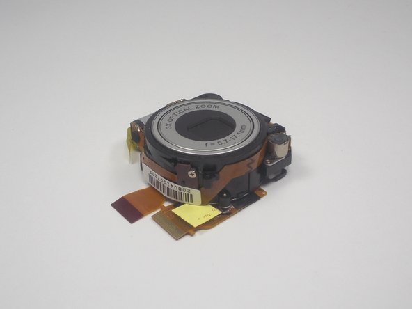 Sanyo VPC-T850 Lens Replacement
