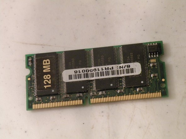 iMac G3 Model M4984 RAM Replacement