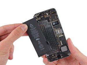 iPhone SEのバッテリーの交換