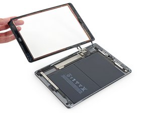 iPad Air Wi-Fi Front Panel Assembly Replacement