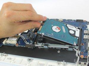 Samsung NP-N210-JA02US Hard Drive Replacement