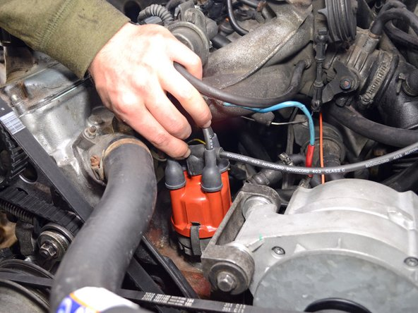 1986-1993 Volvo 240 Spark Plug Wires Replacement
