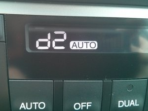 Display all the vehicle temperature sensors
