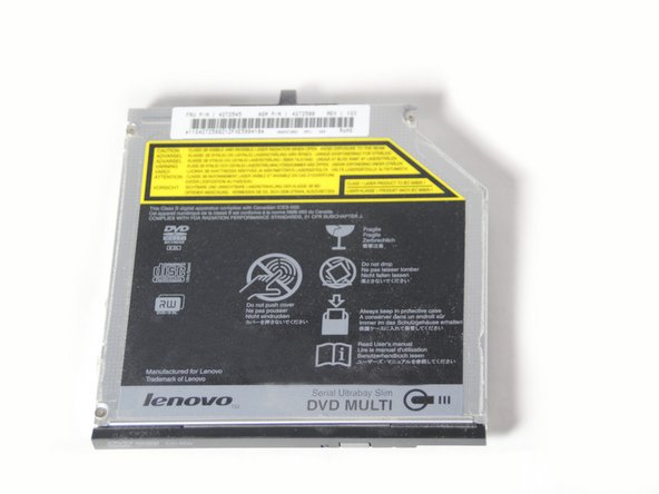 Lenovo ThinkPad T500 Optical Drive Replacement