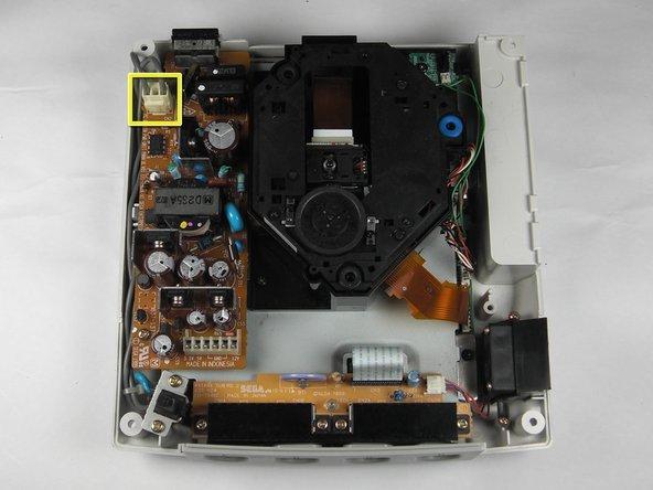 Remplacement du Block d'allimentation de la Sega Dreamcast