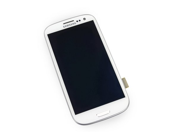 Samsung Galaxy S III S3 Display Assembly (LCD Digitizer Front Panel)メイン画像