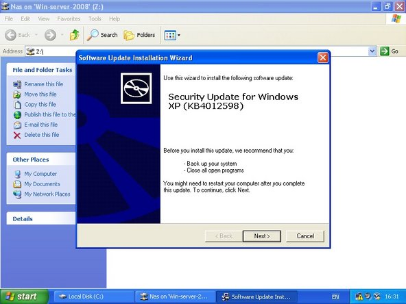 Windows XP, Server 2003 and 8 support has ended.