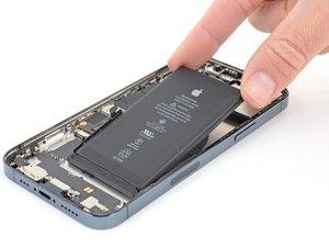 iPhone 12 Pro バッテリーの交換