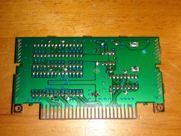 Now looking at the PCB on it's own, Take note of the 4 Solder Terminals marked on the second image of this step.