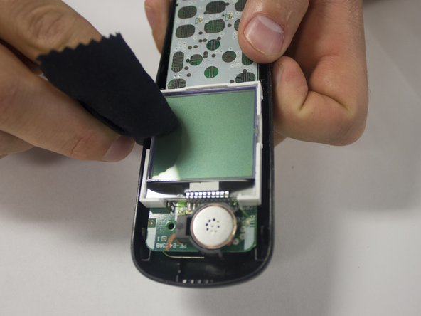 Uniden D1685 front panel and keypad replacement