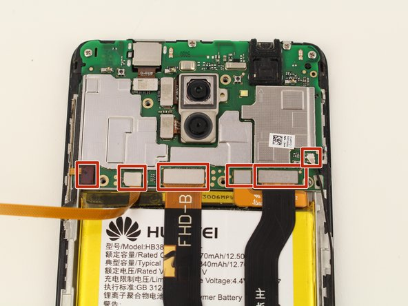 Huawei Honor 6x Front Camera  Replacement