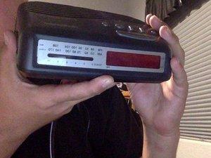 Audiophase AMFM Dual-Alarm Clock Radio Teardown (1999)
