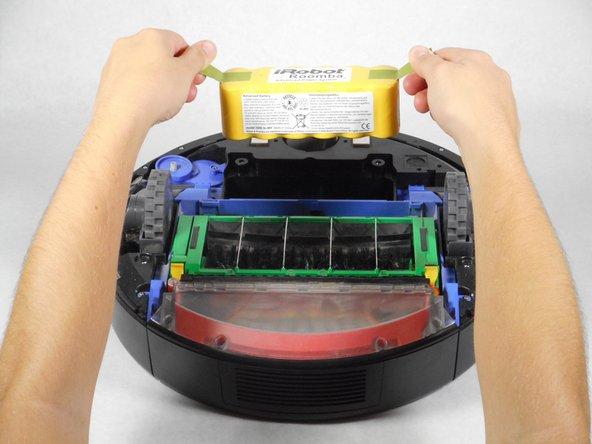 iRobot Roomba 560 Battery Replacement