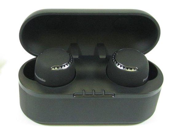 Charging case with headphones
