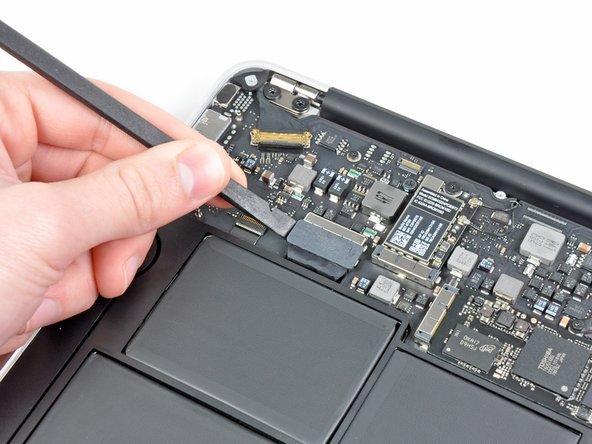 In this step you will disconnect the battery to help avoid shorting out any components during service.