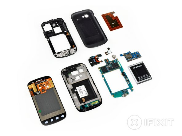 Nexus S Repairability Score: 7 out of 10 (10 is easiest to repair)
