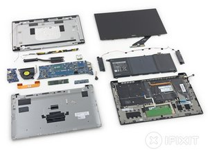 Dell XPS 13 Teardown
