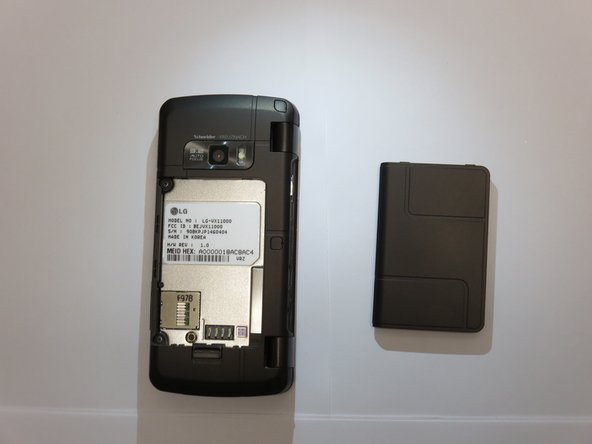 LG EnV Touch VX11000 Battery Replacement