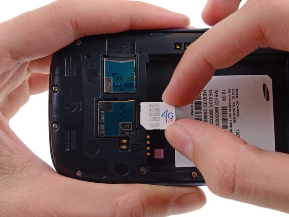 Samsung Galaxy S III SIM Card Replacement