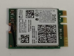 WiFi/ Bluetooth Card