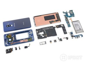 Samsung Galaxy S9+ Teardown