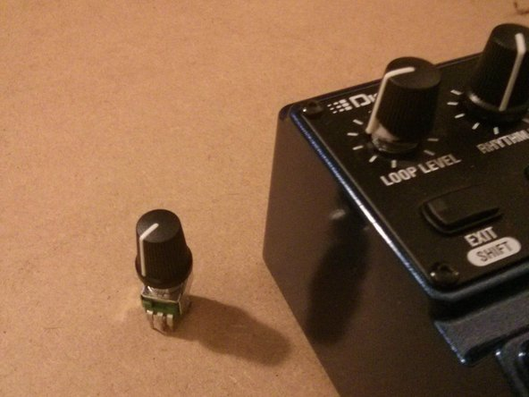 Digitech JamMan Stereo Potentiometer Replacement