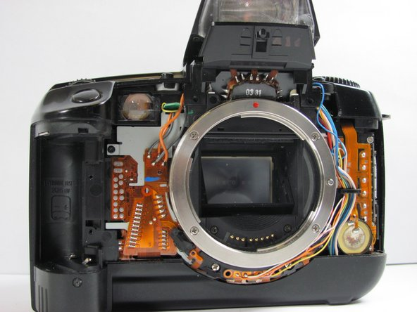 Canon EOS A2 Front Cover Replacement