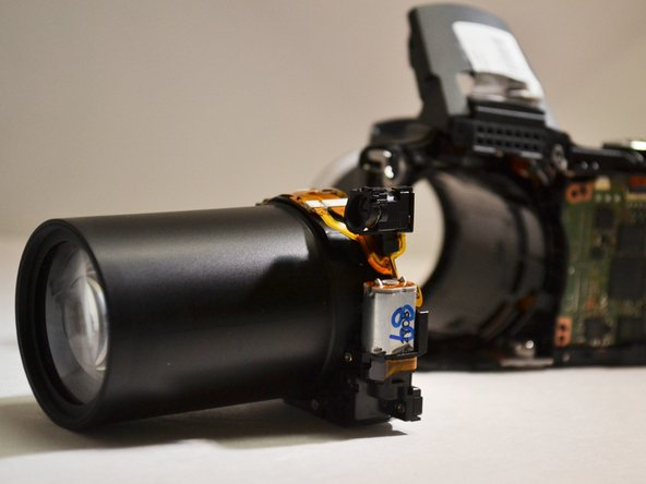 Canon Powershot SX500 IS Lens Replacement