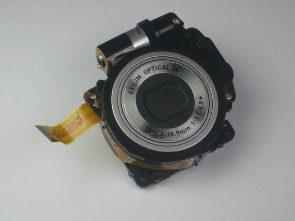 Casio Exilim EX-Z70 Lens Replacement