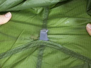 How can I seal the seam stitching on my ultralight tent?