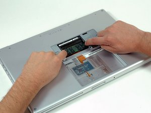 "MacBook Pro 15"" Core 2 Duo Model A1211 RAM Replacement"