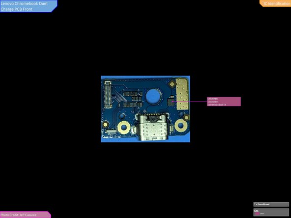 Full IC Identification for Charge Port Board: