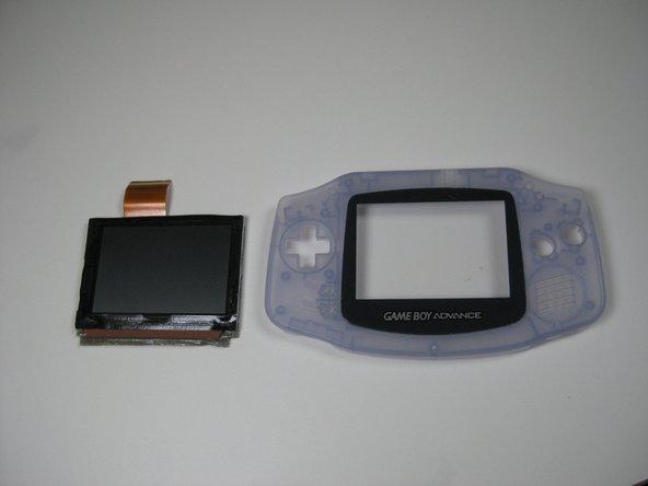 Game Boy Advance Bildschirm Austausch