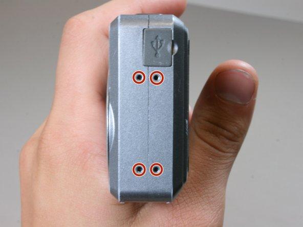 Remplacement des boutons du Polaroid i533