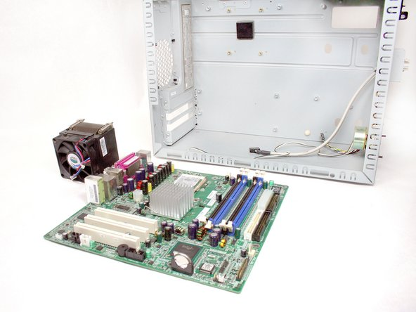Removing HP Compaq dx2000MT Motherboard