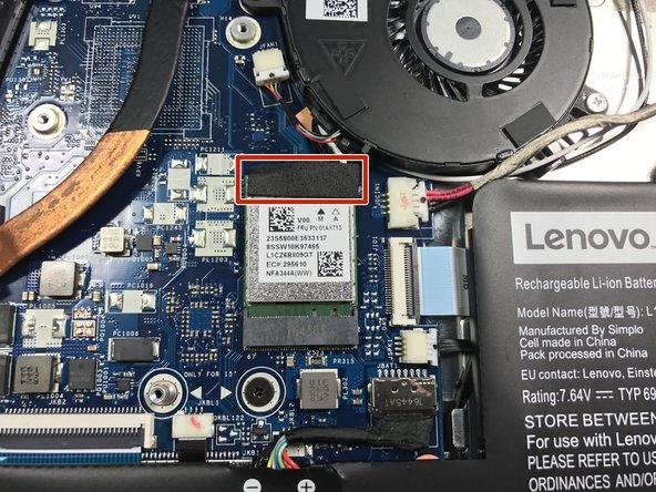 Lenovo Yoga 710-14IKB Wi-Fi Card Replacement