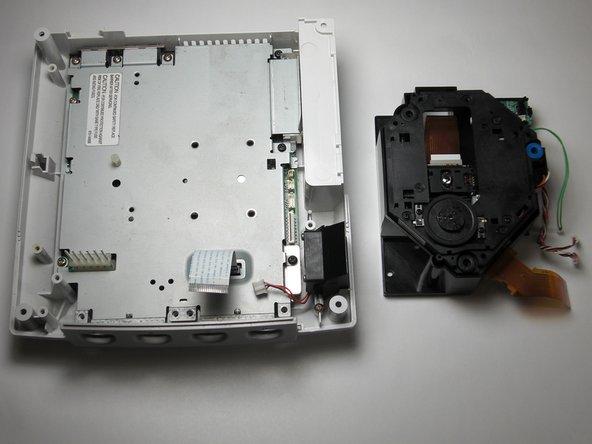 Remplacement du lecteur GD-ROM de la Sega Dreamcast