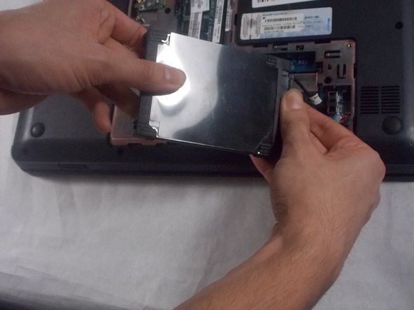 HP Pavilion g4-1117dx Hard Drive Replacement