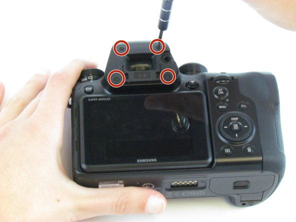 Samsung NX1 Back Cover Replacement