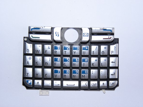 Keyboard - clean it if necessary.