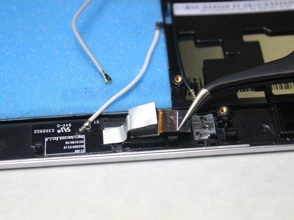 Lenovo Miix 2 Front Facing Camera Replacement